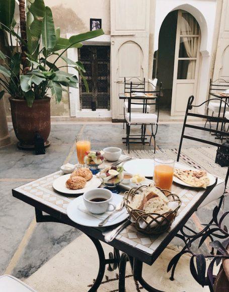 Breakfast at Riad Dar Ten